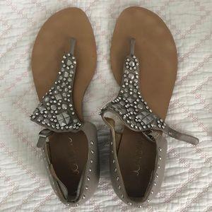 Joan and David jeweled size 9m sandals
